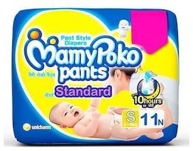 Mamypoko Pants Baby Diaper Standard S 11 Pcs