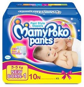 Mamypoko Pants - For New Born  3-5 kg 10 pcs