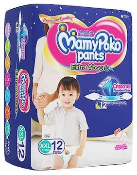 Mamypoko Pants Extra Absorb Diaper - XXL 12Pcs