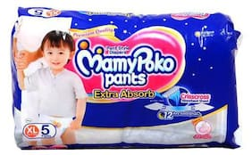 Mamypoko Pants Extra Absorb Diaper - Extra Large 5pcs