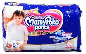 Mamypoko Pants Extra Absorb Diaper - Extra Large 5pcs