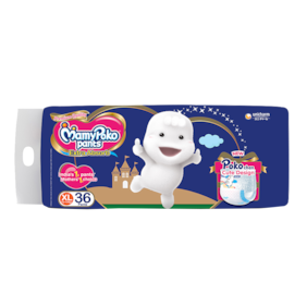 Mamypoko Pants Extra Absorb Diaper - Extra Large 12-17 kg 38 pcs