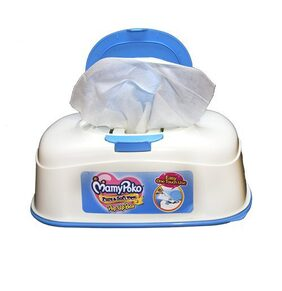 MamyPoko Wipes - Pure and Soft -with purified water and without alcohol - with fragrance - Pack of 50 wipes with Pop up Box