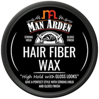 Man Arden Hair Fiber Wax Strong Hold with Gloss Finish 50g (Pack Of 1)