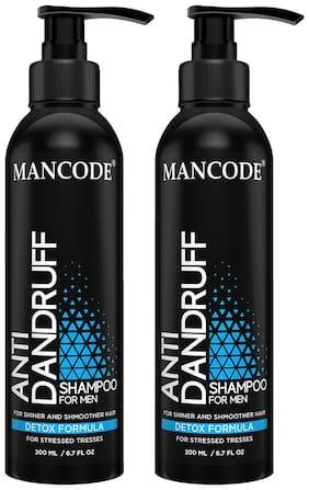Mancode Anti Dandruff Shampoo 200 ml   Anti Dandruff Shampoo 200 ml