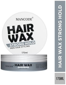 Mancode Hair Gel Wax Strong Hold 175ml
