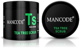 Mancode Tea Tree Scrub-100g
