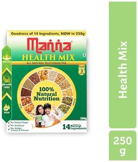 Manna Multigrain Health & Nurition Drink - 250g - No Added Sugars & Preservatives-(Pack of 1)