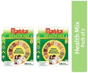 Manna Multigrain Health & Nurition Drink 500 g (Pack of 2 )