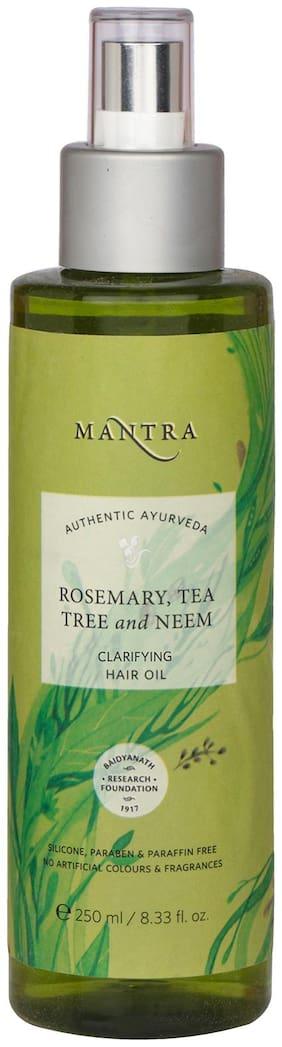 Mantra Rosemary Tea Tree And Neem Dandruff Removing Hair Oil 250 ml Pack Of 1