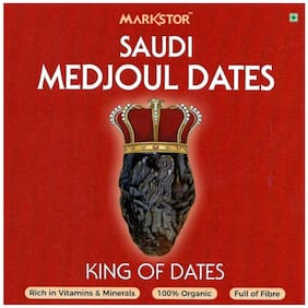 Markstor Saudi Medjoul Dates - King of Dates - 500g (Pack of 1)