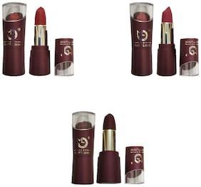 Matt Look Red Lipstick (Shade-47,48,43) 3.8g (Pack of 3)