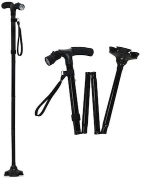 Maxxlite Cane Buddy Foldable Aluminium Walking Sticks