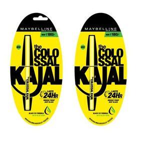 Maybelline Colossal Kajal Packs of 2 @ 30%