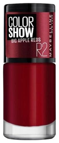 Maybelline New York Color Show Big Apple Red Nail Color 6 ml