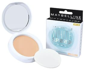 Maybelline New York White Super Fresh Compact 8 gm