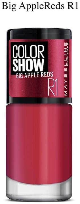 Maybelline New York Color Show Big Apple Nails 201 Paint The Town Red 6 ml