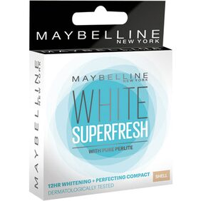 Maybelline New York White Super Fresh Compact Shell Compact