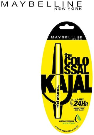 1153616cf88 Buy Maybelline New York Colossal Kajal 0.35 gm Online at Low Prices ...