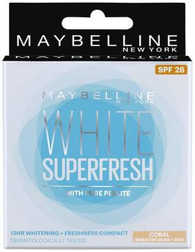 Maybelline New York White Super Fresh Compact Coral 8 gm