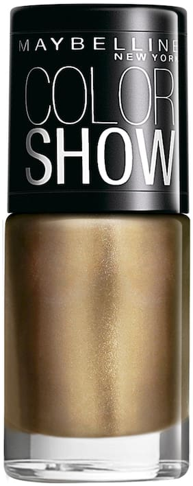 Maybelline New York Color Show Nail Enamel Bold Gold 6 ml