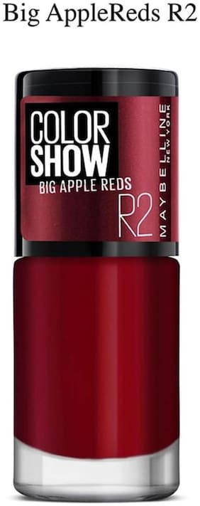 Maybelline New York Color Show Big Apple Nails 202-R2 Big Apple Red 6 ml