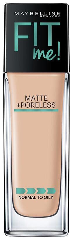 Maybelline New York Fit Me Matte+Poreless Liquid Foundation 120 Classic Ivory (30ml)