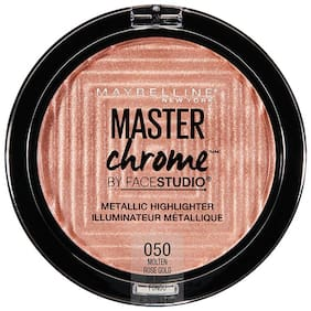 Maybelline New York Face Studio Master Chrome Metallic Highlighter Molten Rose Gold