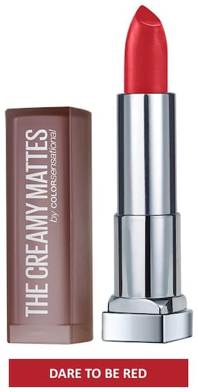 Maybelline New York Color Sensational Creamy Matte 647 Dare To Be Red