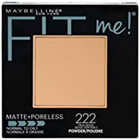 Maybelline New York Fitme Matte + Poreless Powder 222 True Beige