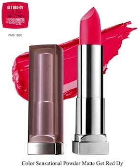 Maybelline New York Color Sensational Powder Matte Get Red-Dy