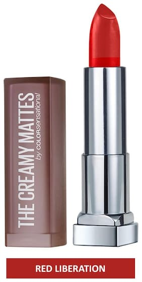 Maybelline New York Color Sensational Creamy Matte 640 Red Liberation