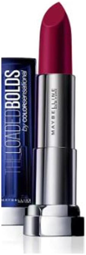 Maybelline New York Color Sensational Loaded Bold Lipstick 09 Midnight Date 3.9Gm