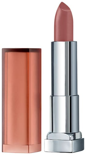 Maybelline New York Color Sensational Inti-Matte Nude Lipstick Toasted Brown