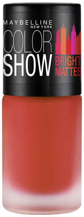 Maybelline New York Color Show Bright Matte Nailpaints Cheerful Coral