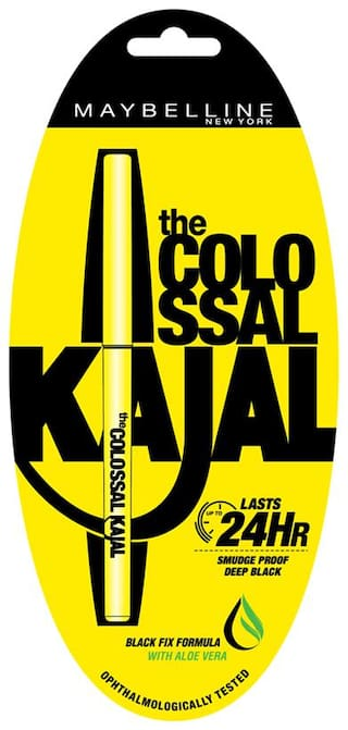 Maybelline New York Colossal Kajal Black (Pack of 1)