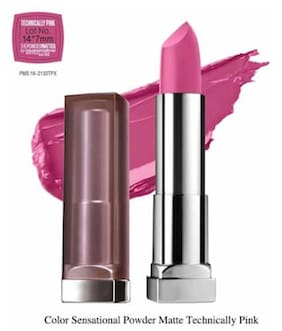 Maybelline New York Color Sensational Powder Matte Technically Pink