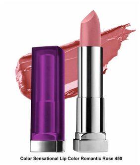 Maybelline New York Color Sensational Lip Color Romantic Rose
