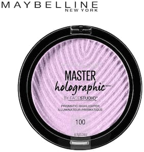 Maybelline New York Face Studio Master Holographic Prismatic Highlighter 100 Purple(Pack of 1)