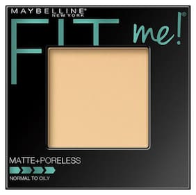Maybelline New York Fitme Matte+ Poreless Powder 110 Porcelain