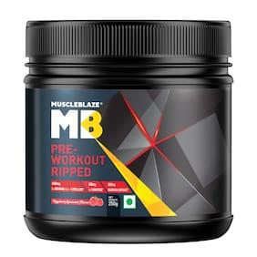 Muscleblaze Pre-Workout Ripped 0.24 kg (0.55 lb)/250 g - Raspberry Lemonade
