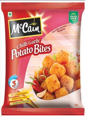 Mccain Crunchy Potato Nuggets - Chilli Garlic Potato Bites 700 g