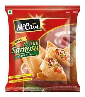 Mccain Mini Samosa - Cheese Pizza 240 g