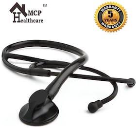 MCP Premium Black Matte Single Head Stethoscope for Doctors & Students