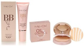 Me-On combo of BB cream (SPF 30) and Oil Control Compact Powder
