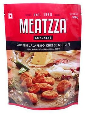 Meatzza Chicken Jalapeno Cheese Nuggets 300 g
