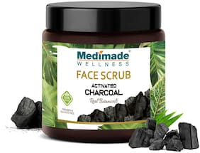 Medimade Activated Charcoal Face Scrub