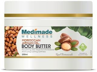 Medimade Argan Oil Body Butter Pack of 1 200ml