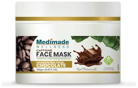 Medimade Caffein Face Mask Paraben and Sulphate free 250g (Pack Of 1)