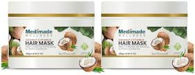 Medimade Coconut & Vitamin E Hair Mask- Pack of 2